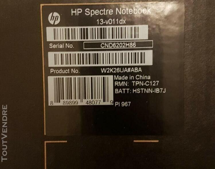 Hp spectre 13 ordinateur portable pro 13 g1