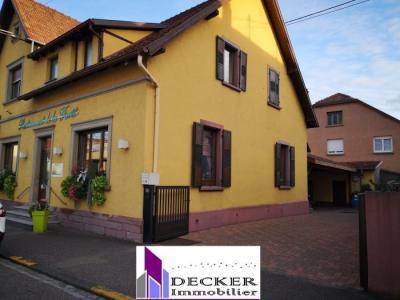 Immeuble à vendre haguenau 6 pièces 395 m2 bas rhin