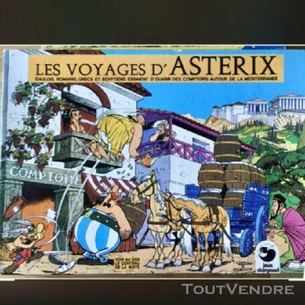 Jeu les voyages d'asterix - jeux dargaud editeur 1978 un