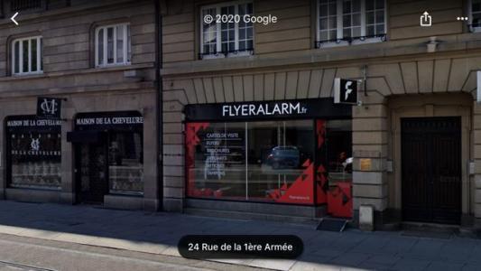 Local commercial à vendre strasbourg 118 m2 bas rhin