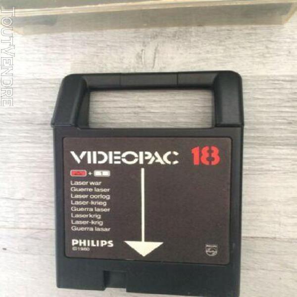 Lot 4 jeux philips videopac jeux console philips videopac
