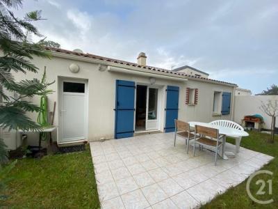 Maison à vendre tranche-sur-mer 3 pièces 66 m2 vendee