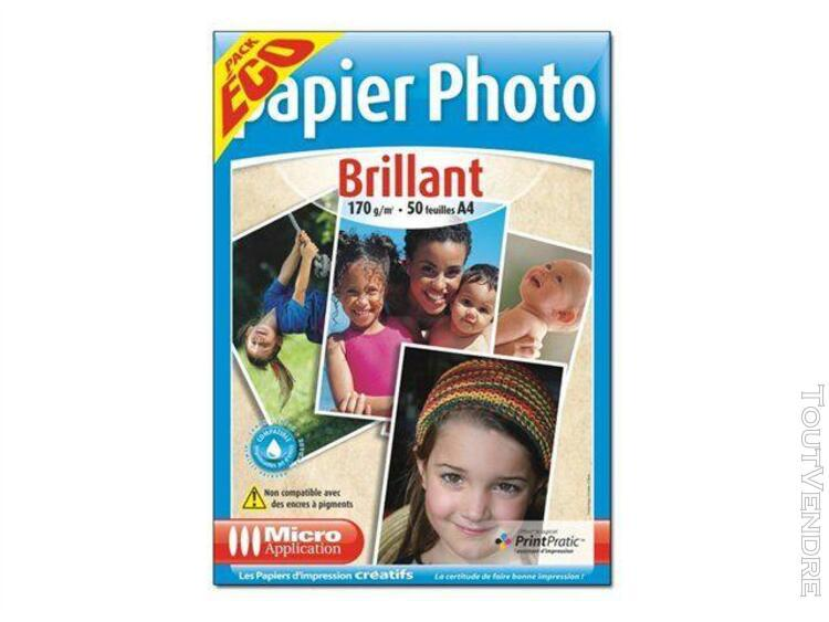 Micro application papier photo brillant eco pack - papier ph