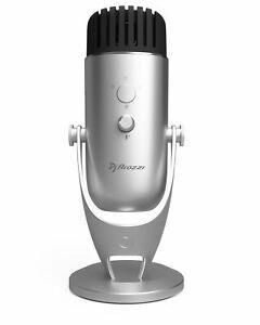 Microphone haut de gamme colonna arozzi argent
