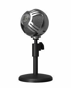 Microphone unidirectionnelle cardioïde sfera chrome