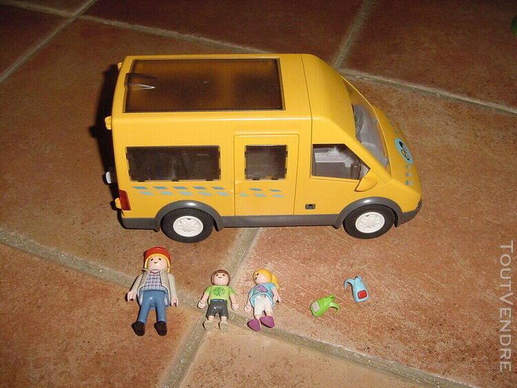 Playmobil bus scolaire 6866 complet (3 achats port offert)