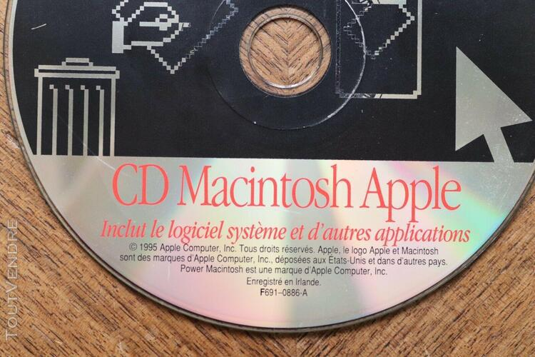 Power macintosh apple séries 7500 8500 system install
