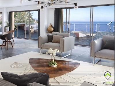 Programme immobilier neuf beausoleil 3 pièces 72 m2 alpes