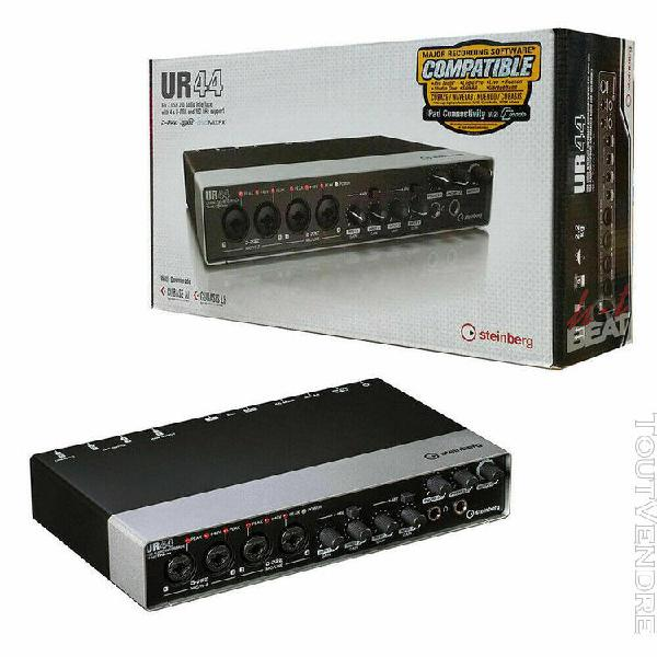 Steinberg ur44 audio/midi interface