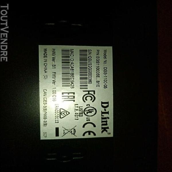 Switch réseau d-link 5-port gigabit smart switch