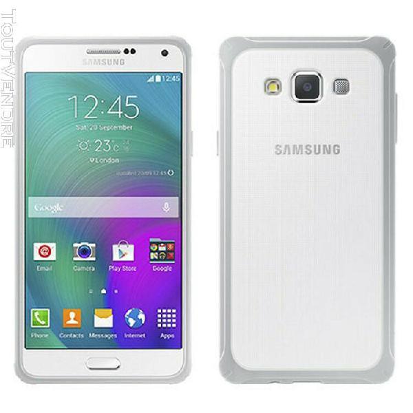 Téléphone samsung galaxy a7 blanc, comme neuf,