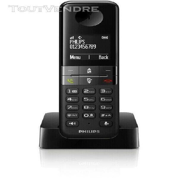Téléphone sans fil philips d450 solo