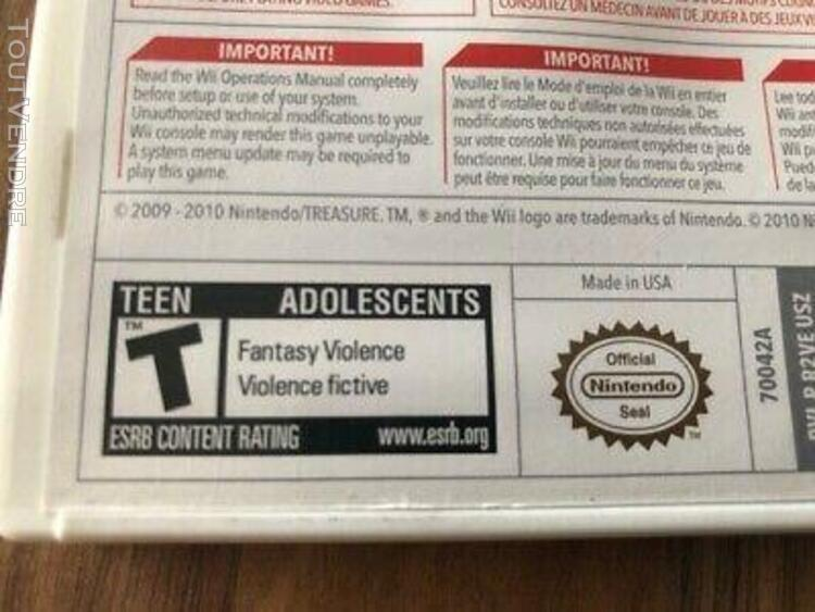 Wii: sin & punishment star successor !! é