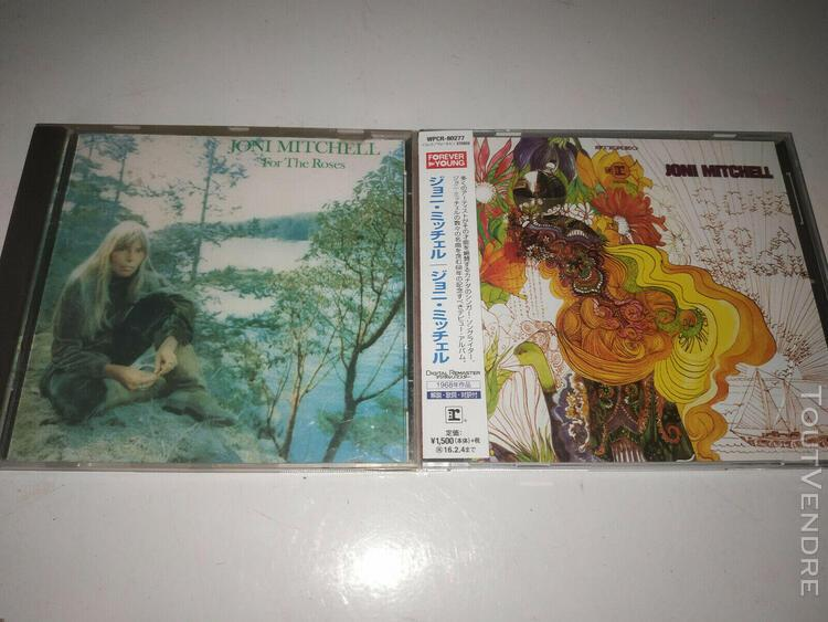 2 cd joni mitchell (song to a seagull / for the roses)