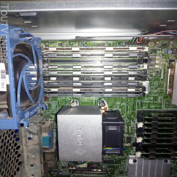 Hp ml350 g6 bi-xeon x5650 (12c/24t) - 64 gb - 6x600 sas 15k
