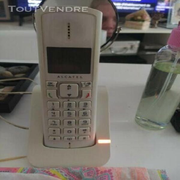 Telephone fixe sans fil duo alcatel
