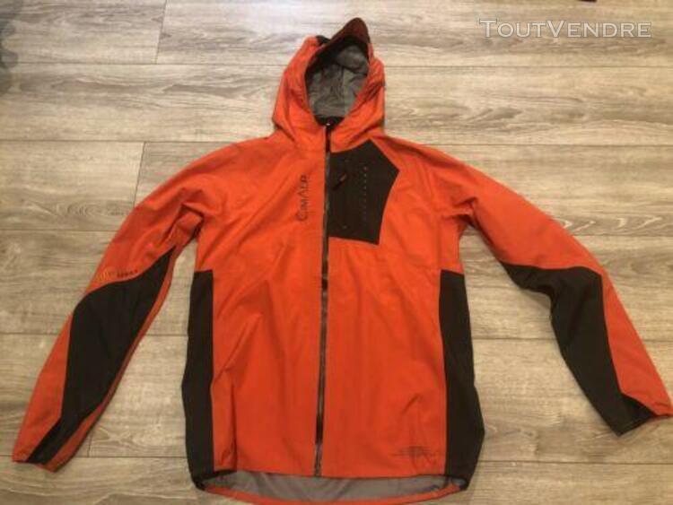 Veste trail cimalp storm 2 pro homme orange