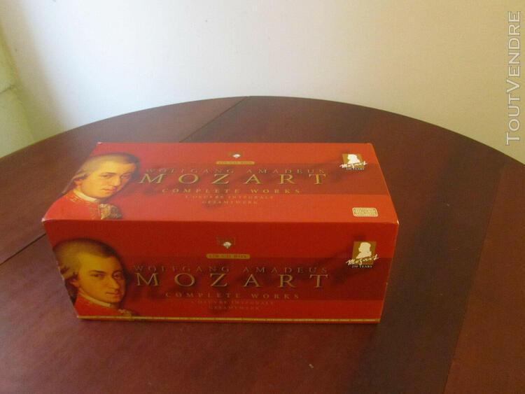 Wolfgang amadeus mozart - oeuvres integrale en 170 cd