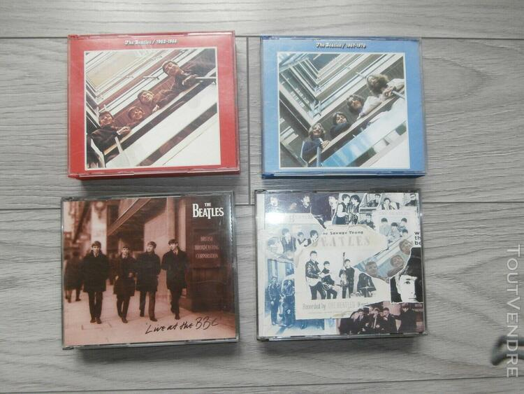 4   coffrets cd   beatles