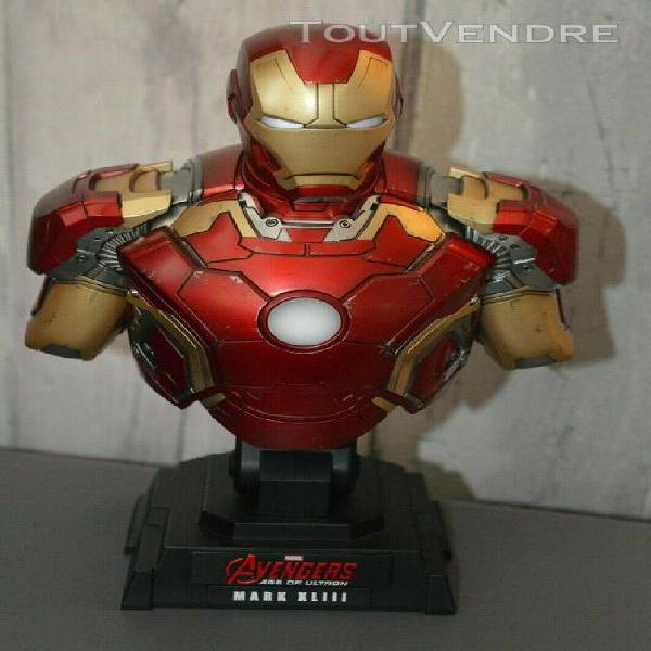 Iron-man-mark-xliii - buste - 1/4 - hot toys (comme neuf)
