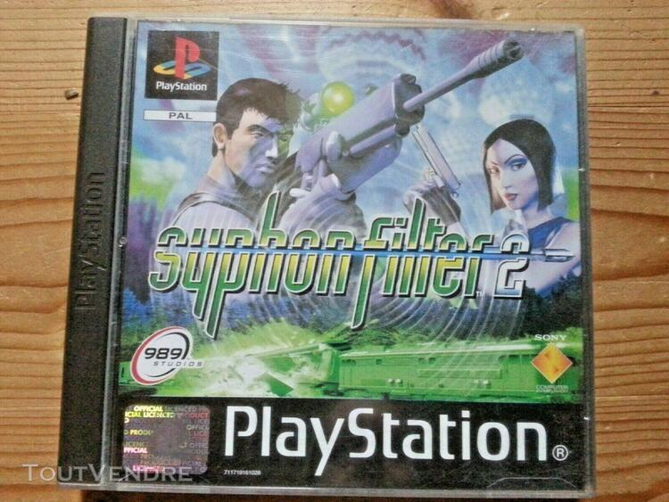 Jeux ancienne collection perso - ps1 ps2 syphon filter 2 co