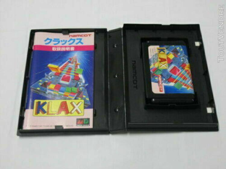 Sega mega drive klax japan jeu game japon