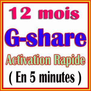 Solution renouvellement g-share 12 mois starsat 2000