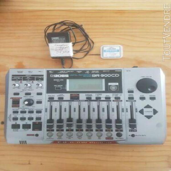 Studio d'enregistrement numérique boss br-900cd