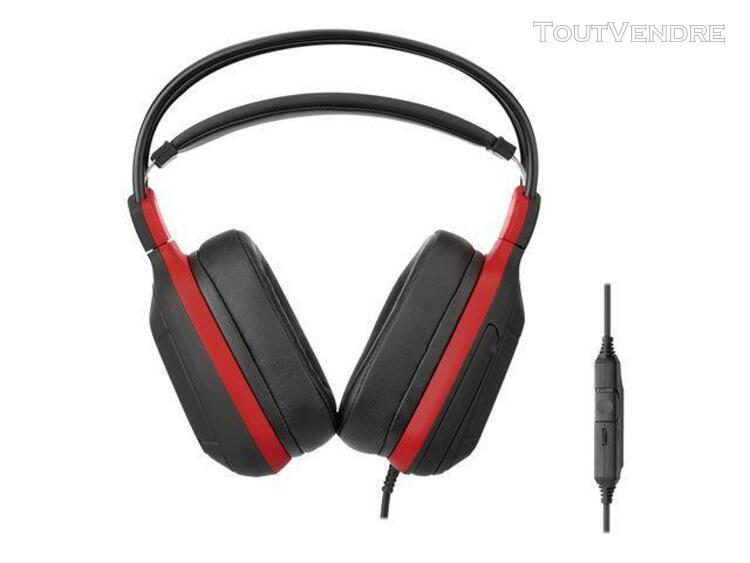 Subsonic pro gaming 50 - red sports edition - micro-casque -
