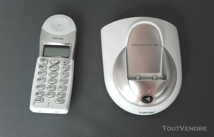 Topcom butler 4012 dect usb voip - téléphone sans fil