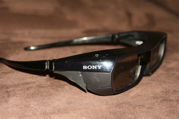 4 paires de lunettes 3d ir sony tdg-pj1 occasion,