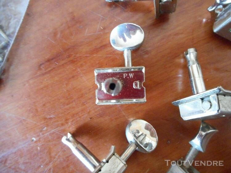 6 mécaniques type kluson pw stratocaster