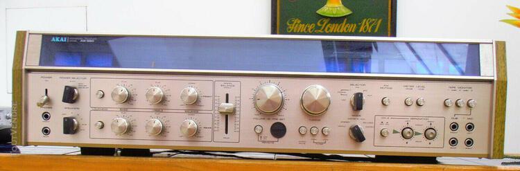 Ampli tuner vintage akai as 980 quadriphonique