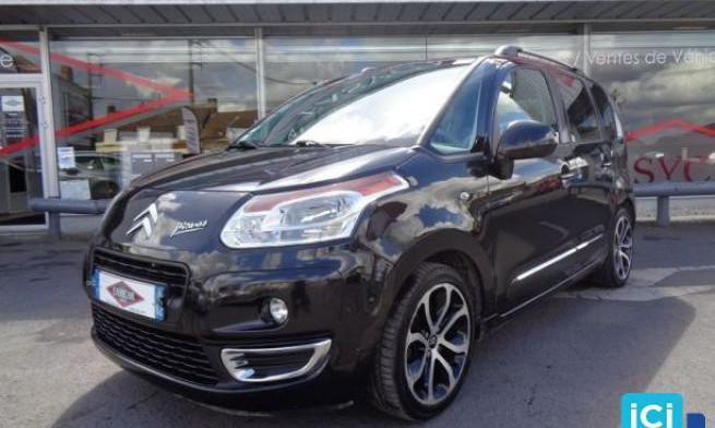 Citroën c3 picasso 1,6hdi 110cv exclusive black