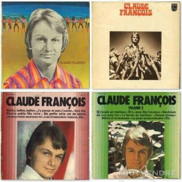 Claude françois 4lp: c'est la même chanson, tout éclate