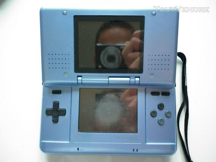 Console nintendo ds 1ère génération de couleur bleue