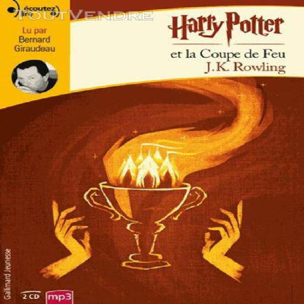 Harry potter, iv: harry potter et la coupe de feu