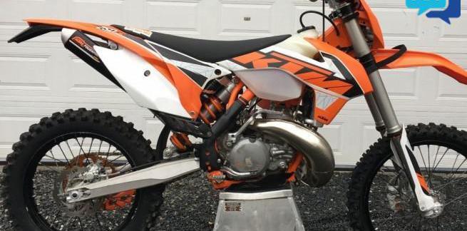 Ktm 250 exc 2009