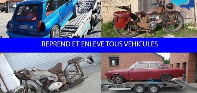 Reprend et enleve tous vehicules