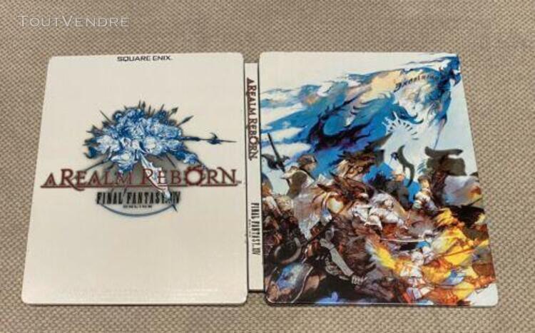 Steelbook collector ff xiv 14 a realm reborn online