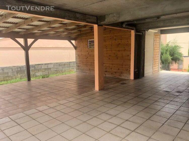 Villa individuelle t4 avec sous-sol et jardin