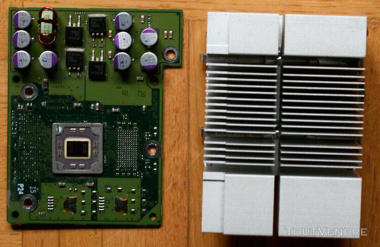 Vintage • apple • carte cpu + radiateur • powermac g4