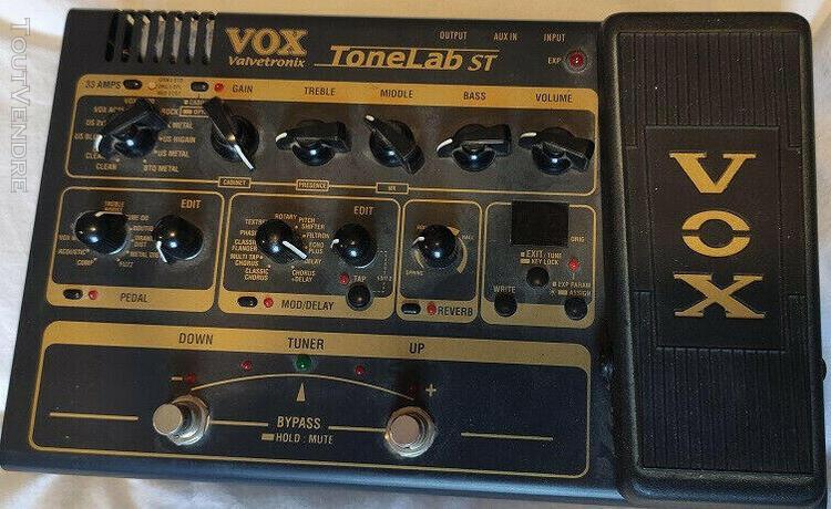 Vox tonelab st multi-effects guitar effect pedal