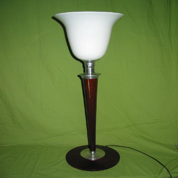 Superbe Pied de lampe UNILUX style Mazda ART DÉCO Hauteur 45