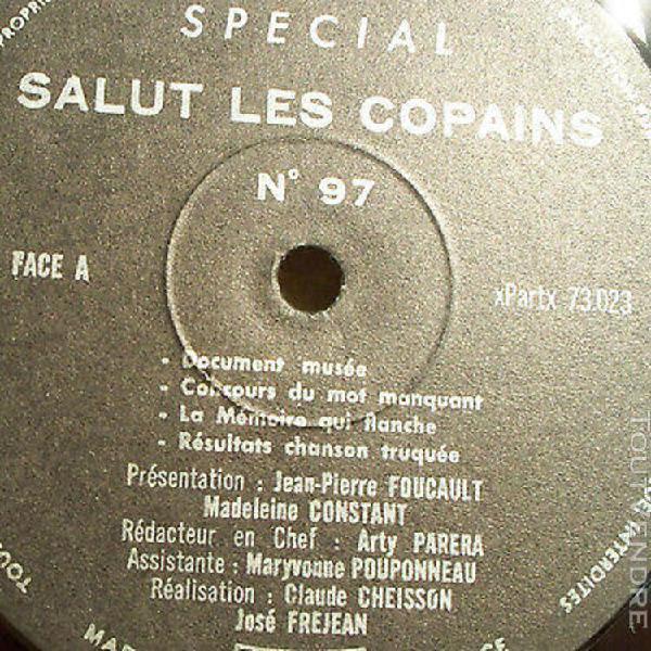 33t special salut les copains n° 97 madeleine constant -