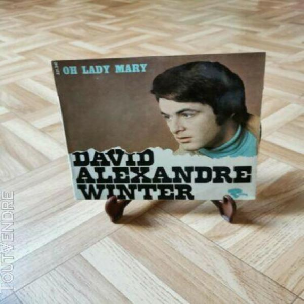 David alexandre winter – oh lady mary 7'' 45 rpm ep