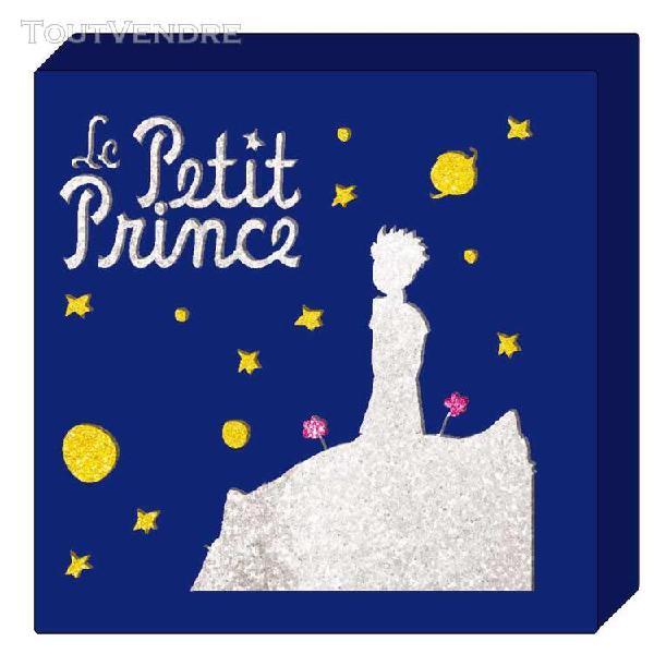 Décoration lumineuse le petit prince bleu