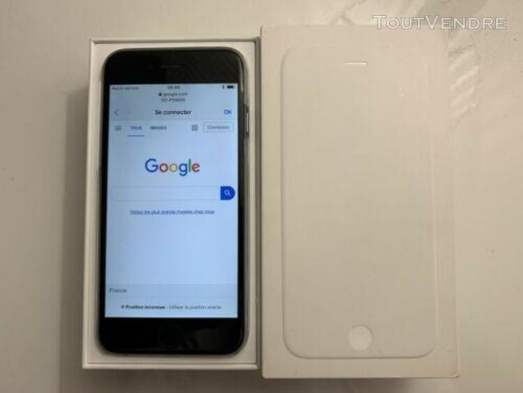 Iphone 6 64gb gris sideral débloqué + boite + chargeur