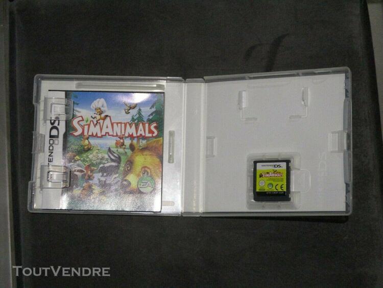 Jeux sim animals simanimals jeu animaux vidéo console