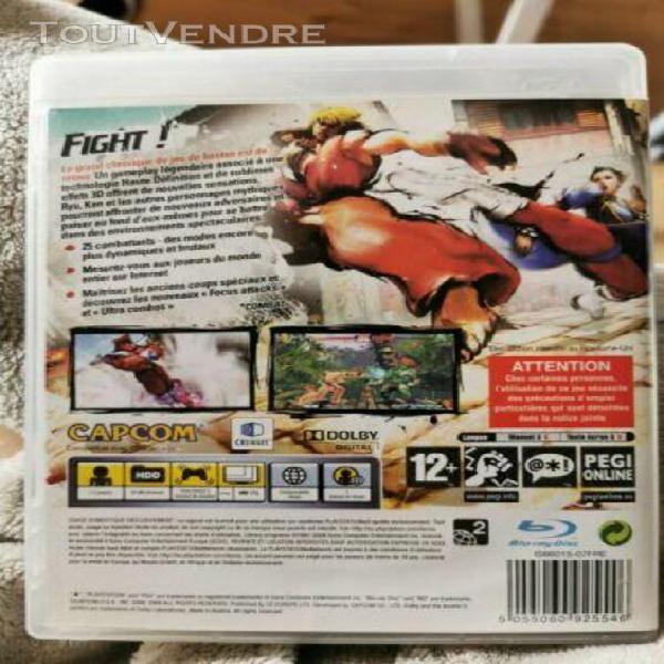 Jeux vidéo ps3 street fighter vi
